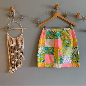 Lily Pulitzer mini skirt